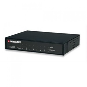 Intellinet 8-Port Gigabit Ethernet Switch (530347)