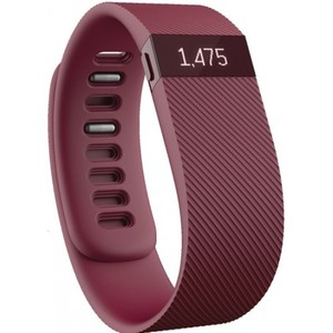 Fitbit Charge Heart Rate + Activity Wristband - BURGUNDY