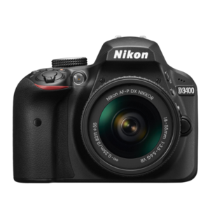 Nikon D3400 18-55mm VR Lens Kit
