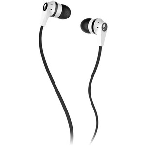 Skullcandy INKD - White / Black /White (Mic) Earbuds S2IKDY-074