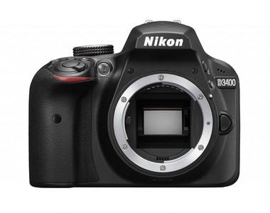Nikon D3400 Digital Camera Body (1 Year Camtronx Warranty)