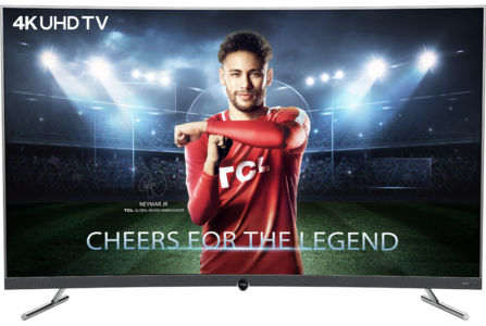 TCL 55 55P5 CURVED 4K UHD SMART LED TV (2 Year Official Warranty)