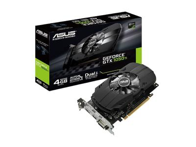 ASUS Phoenix GeForce GTX 1050 Ti 4GB Graphics Card - PH-GTX1050Ti-4G (3 Years Limited Warranty)