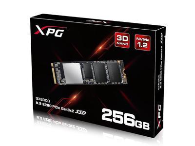 XPG SX6000 256GB M.2 PCIe NVMe Internal SSD w/ DIY Heatsink (ASX6000NP-256GT-C)