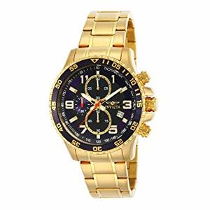 Invicta 14878 Mens Specialty Chronograph Gold Ion-Plated Watch