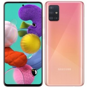 Samsung Galaxy A51 Dual Sim (4G  6GB  128GB  Prism Crush Pink) - NON PTA