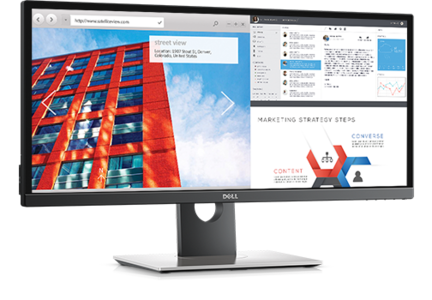 Dell UltraSharp 29 Ultrawide Monitor: U2917W 29