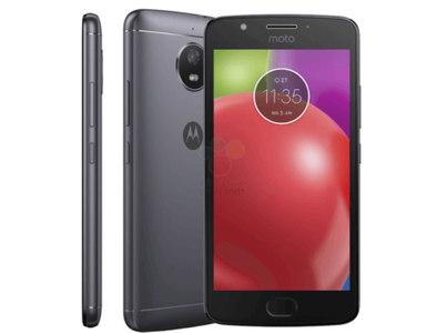 Motorola Moto E4 XT1762 Dual Sim (4G  2GB RAM  16GB ROM  Gray) Official Warranty