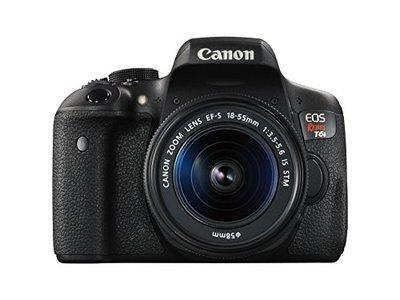 Canon EOS 750D Digital SLR with EFS 18-55mm IS STM Lens