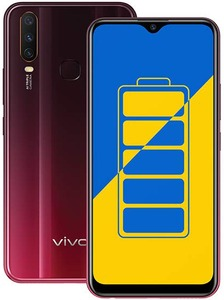 Vivo Y15 Dual Sim (4G  4GB RAM  64GB ROM Red) With 1 Year Official Warranty