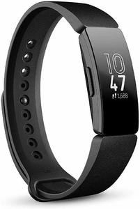 Fitbit Inspire Fitness Tracker  One Size (S & L bands included) - Black (Non-heart Rate)