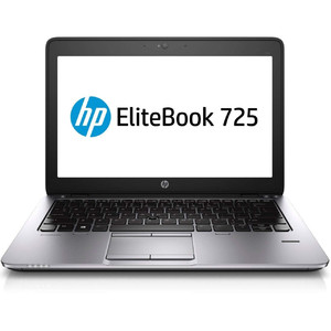 2018 HP EliteBook 725 G2 12.5 Notebook AMD A8 7150B up to 3.2G Webcam 8G RAM 500G  USB 3.0 VGA DP Port Win 10 Pro 64 Bit Multi-Language Support English/Spanish (Certified Refurbished)