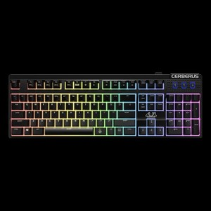 ASUS CERBERUS MECH RGB Mechanical (RED-Switch Type) LED-Backlit USB Gaming Keyboard