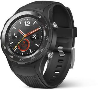 Huawei Watch 2 Sport 4G Version Smart Watch  Silicone Band - Black With Sim Slot