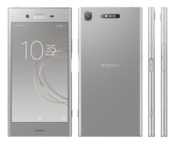 Sony Xperia XZ1 Dual Sim (4GB RAM  64GB ROM  silver) 1 Year Official Warranty