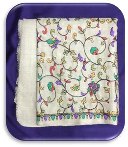 Kashmir Paper Machie Pashmina Shawl (S23)