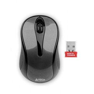 A4Tech G3-280N Wireless Mouse (Glossey Grey)