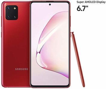 Samsung Galaxy Note 10 Lite (4G  8GB  128GB Aura Red) - Non PTA