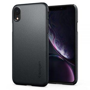 Spigen iPhone XR Case Thin Fit Graphite Gray (AMT-1006)