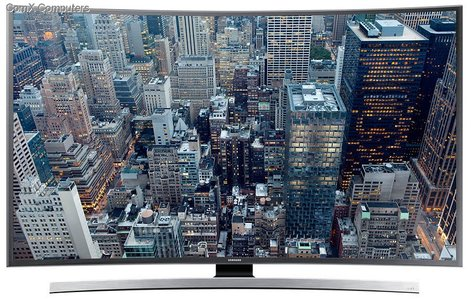 Samsung 48 48JU6600 UHD CURVED SMART LED TV
