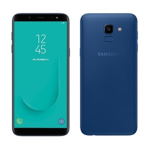 Samsung Galaxy J6 Dual Sim (4G  3GB RAM  32GB ROM  Blue) 1 Year Official Warranty