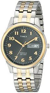 Timex T26481 Elevated Classics Stainless Steel Two-Tone Watch