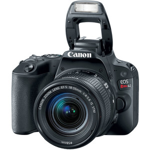 Canon EOS Rebel SL2/200D DSLR Camera with 18-55mm Lens (MBM Warranty)