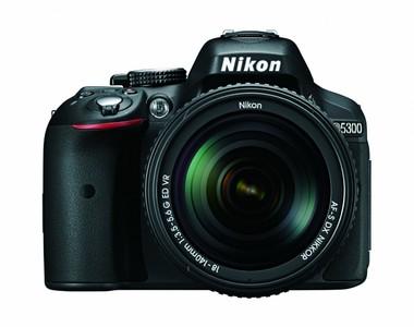Nikon D5300 24.2 MP CMOS Digital SLR Camera with 18-140mm f/3.5-5.6G ED VR AF-S DX NIKKOR Zoom Lens