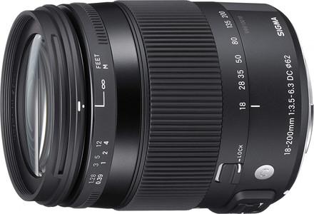 Sigma 18-200mm F3.5-6.3 DC OS HSM Fixed-Zoom Lens CONTEMPORARY for Nikon (DX) Cameras