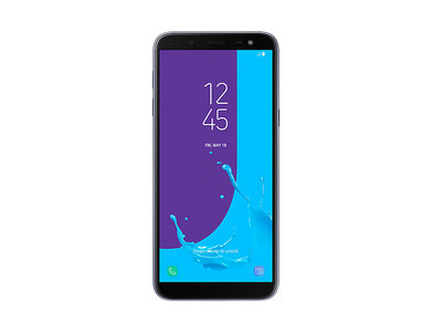 Samsung Galaxy J6 Dual Sim (4G  3GB RAM  32GB ROM  Lavender) 1 Year Official Warranty