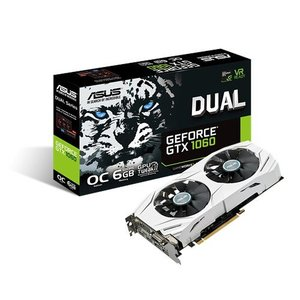 ASUS Dual GeForce GTX 1060 6GB 192Bit Graphics Card - DUAL-GTX1060-O6G-GAMING (3 Years Limited Warranty)