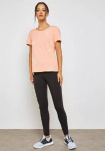 Adidas Linear T-Shirt (Peach)