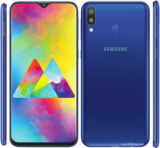 Samsung Galaxy M20 Dual Sim (4G  3GB RAM  32GB ROM  Blue)