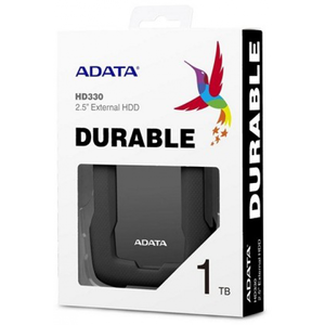 ADATA HD330 1TB Portable External Hard Drive Black