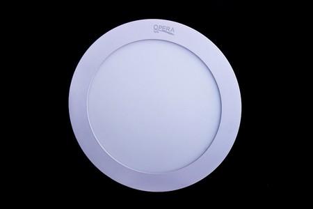 Opera Round LED Panel Light 12W (Warm White)