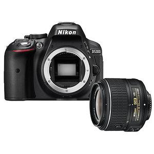 Nikon D5300 KIT WITH AF-S DX NIKKOR 18-55mm f/3.5-5.6G VR (1 Year Camtronix Warranty)