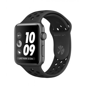 Apple Watch Series 3 MQL42 42mm Nike+ Space Gray Aluminum Case With Anthracite/Black Sport Band - GPS