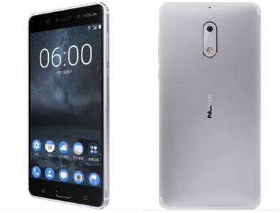 Nokia 6 (4G  64GB  Silver)
