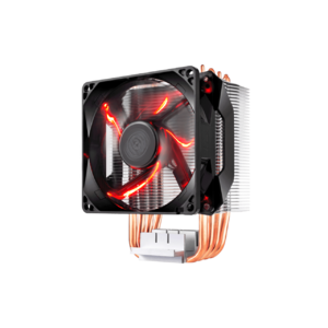 Cooler Master RR-H410-20PK-R1 Hyper H410R Compact Tower CPU Cooler 120mm Red LED Intel/AMD Support