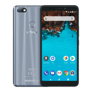 Infinix Note 5 X604 Dual Sim (4G  4GB RAM  64GB ROM  Berlin Grey) 1 Year Official Warranty