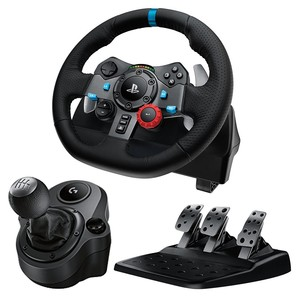 Logitech Driving Force G29 Racing Wheel For PS3 - PS4 - PC (Steering Wheel + Pedals)