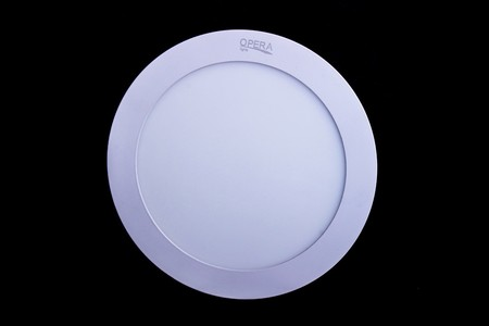 Opera Round LED Panel Light 9W (White)
