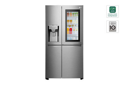 LG GR-X257CSAV InstaView Door-in-Door Side By Side Refrigerator