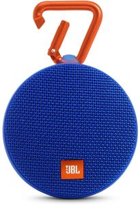 JBL Clip 2 Wireless Bluetooth Speaker - Blue