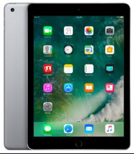 Apple iPad (5th Generation) (128GB  WiFi  Grey)
