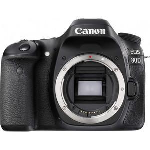 Canon EOS 80D Digital SLR Camera Body Black (1 Year MBM Warranty)