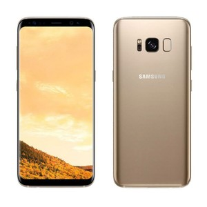 Samsung Galaxy S8 Plus G955FD Dual Sim (4G  64GB  Maple Gold) Official Warranty