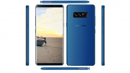 Samsung Galaxy Note 8 N950U Single Sim (4G  6GB RAM  64GB ROM  Deepsea Blue)