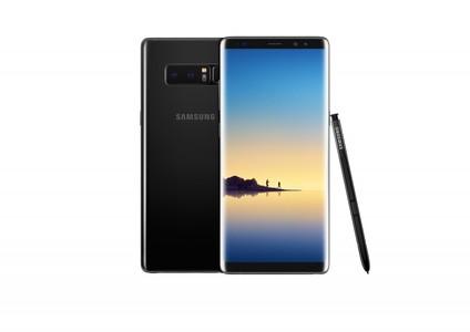 Samsung Galaxy Note 8 N950U Single Sim (4G  6GB RAM  64GB ROM  Midnight Black)