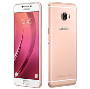 Samsung Galaxy C7 Dual Sim (4G - 32GB) Pink Gold Taiwan